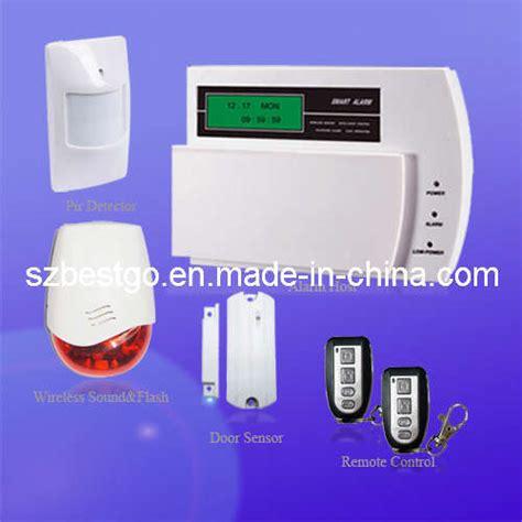 china wireless security home burglar gsm alarm system bt
