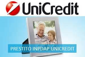 banche convenzionate inpdap prestiti inpdap unicredit prestito pensione quinto pi 249