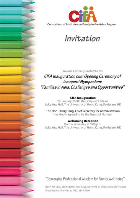invitation design workshop invitation sles for conference choice image