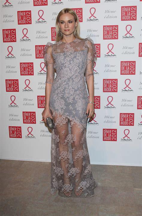 Project 3 Diane Clothespin by Diane Kruger Evening Dress Diane Kruger Clothes Looks