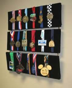 how to display medals in your room