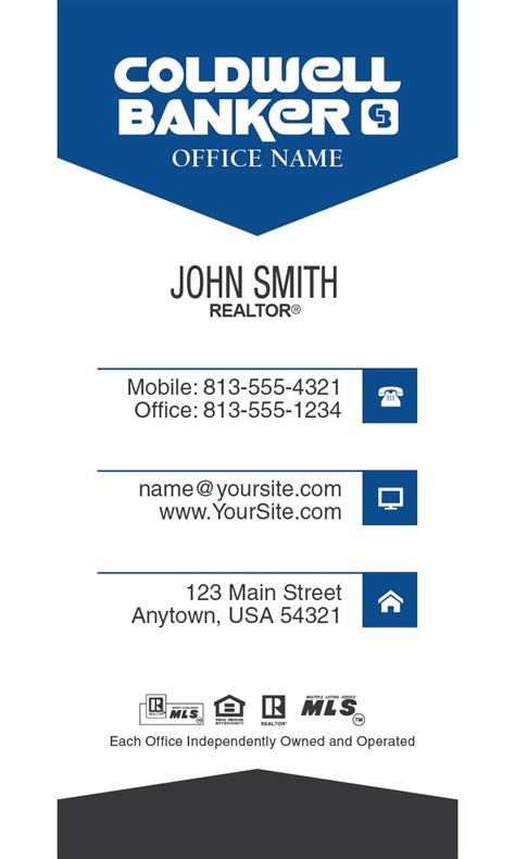 17 best images about new coldwell banker business card
