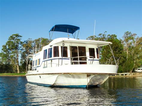 houseboats newcastle scarborough 45ft houseboat on lake macquarie