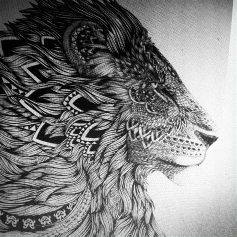 Lion Tattoo On Pinterest | lion tattoo tattoos and piercings