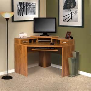 Corner Computer Desk Furniture Os Home Office Furniture Office Adaptations Corner Computer Desk With Monitor Platform