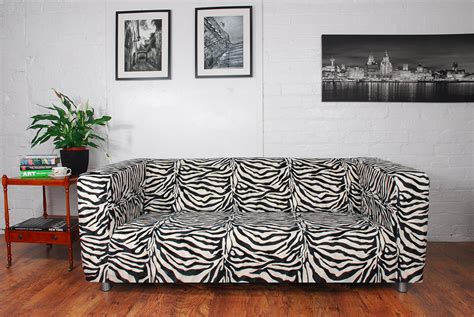 zebra slipcover zebra print sofa covers printed sofa slipcovers foter