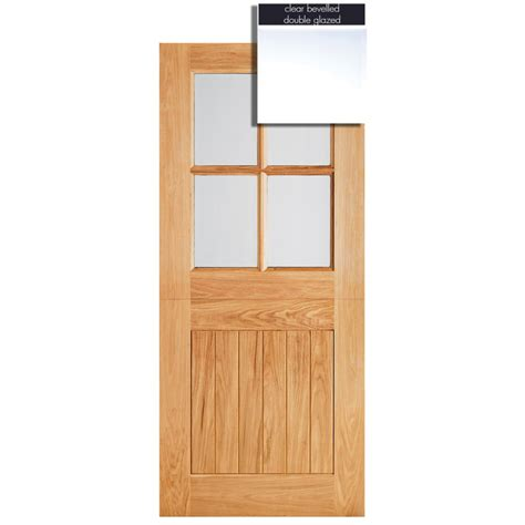 Glazed Exterior Door Lpd Adoorable Oak Cottage Stable 4 Light Glazed Exterior External Door
