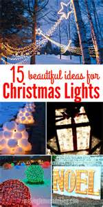 outdoor lights decorations 15 beautiful outdoor lighting diy ideas