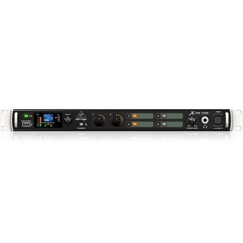 Mixer Behringer X32 Rack behringer x32 40 input digital rack mixer