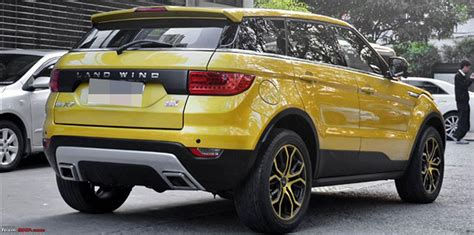 land rover chinese landwind x7 range rover evoque clone launched in china