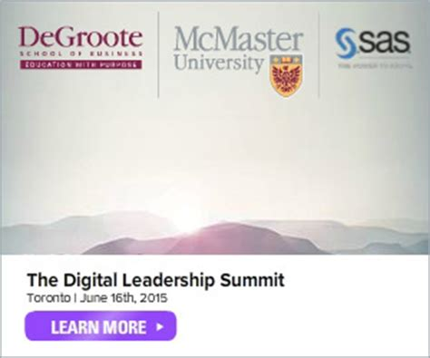Transferring To Mcmaster Mba by Big Data The Link Between Innovation And Industry Lies In
