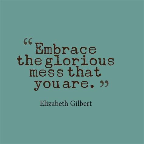 embrace the glorious mess that you are off your mat