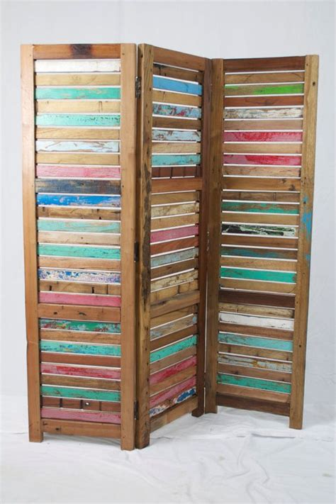 reclaimed wood divider solid reclaimed wood room divider i ve always thought