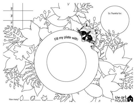 thanksgiving coloring placemats the world s catalog of ideas