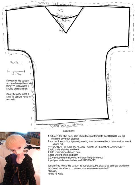 shirt pattern for ken doll 60 cm bjd shirt pattern by katiefoss on deviantart