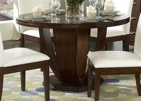 round dining room tables using round dining tables pros and cons traba homes