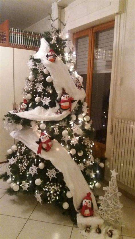 penguin christmas tree snowman christmas decorations diy christmas tree christmas tree themes