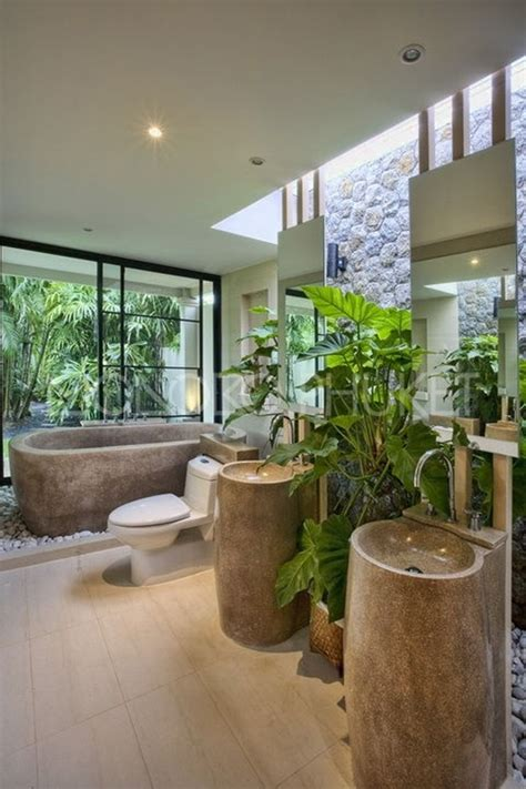 Flooring Ideas For Bathrooms by 18 Tropical Bathroom Design Photos Beautyharmonylife