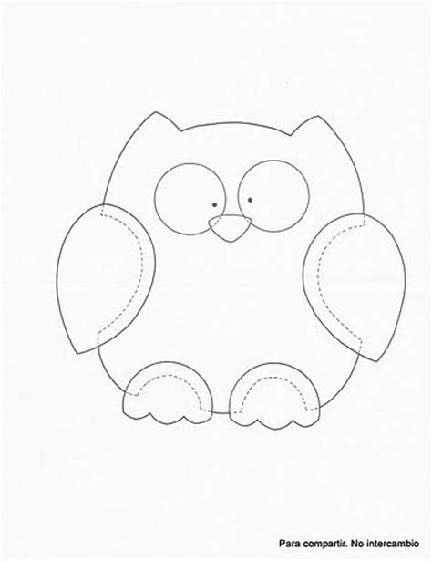 printable owl template for sewing best 25 felt owl pattern ideas on pinterest felt