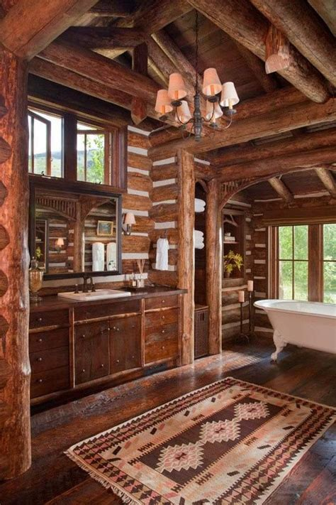 log cabin homes exterior interior furniture and decor