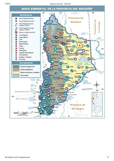 imagenes satelitales de neuquen mapa para imprimir de neuqu 233 n argentina mapa ambiental
