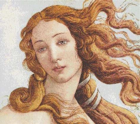 botticelli venus the birth of venus detail by sandro botticelli cross