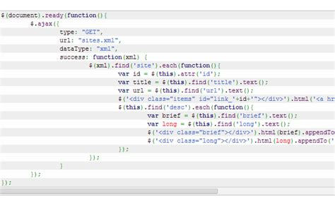 tutorial jquery xml 40 resources for getting started with jquery development