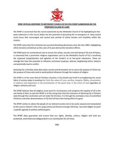 Confirmation Letter Methodist Quot Commandments Broken Quot Methodist Church Hierarchy Distances Itself From Controversial