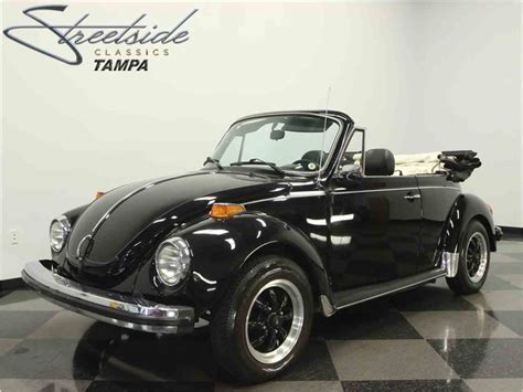 volkswagen old convertible 1979 volkswagen super beetle convertible for sale