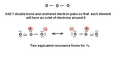 ozone electron dot diagram simple method for writing lewis structures ozone o3 and