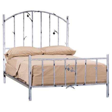 wrot iron bed wrought iron rustic whisper creek bed by stone county