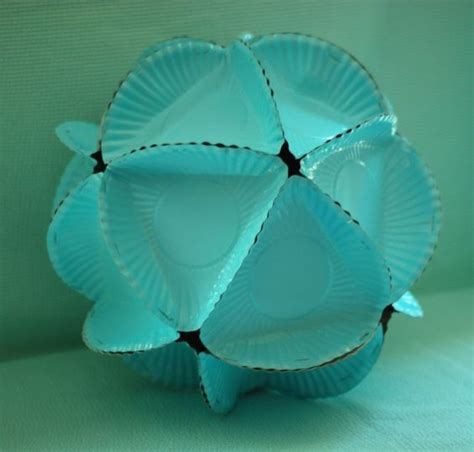 diy decorations using paper plates diy polyhedrons to hang from the ceiling for
