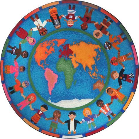 clip rug around the world clipart best