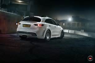 Infiniti Qx70 Tuning Tuned Infiniti Qx70 Channels Its Inner Cayenne