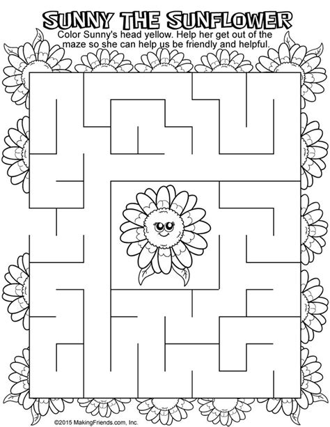 yellow petal coloring page girl scout daisy yellow petal daisy girl scouts