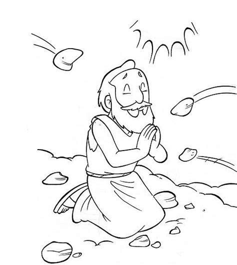coloring pages bible stephen saints coloring pages printable catholic saints