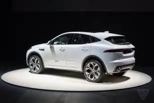 Jaguar Suv Crossover Jaguar Reveals E Pace The Crossover Suv For Millennial