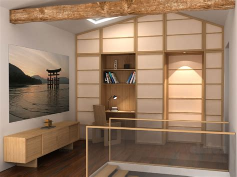 interni giapponesi porte e pareti scorrevoli shoji in stile giapponese cinius