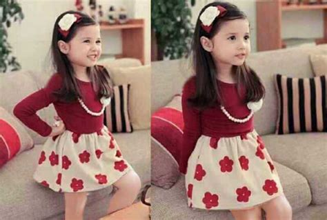 Gown Baju Anak model baju pesta anak design bild