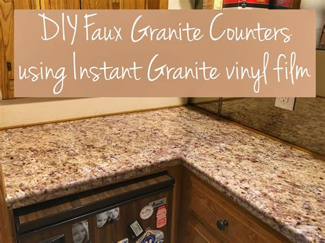 Update Laminate Countertops by Transform Your Countertops With A Diy Granite Counter