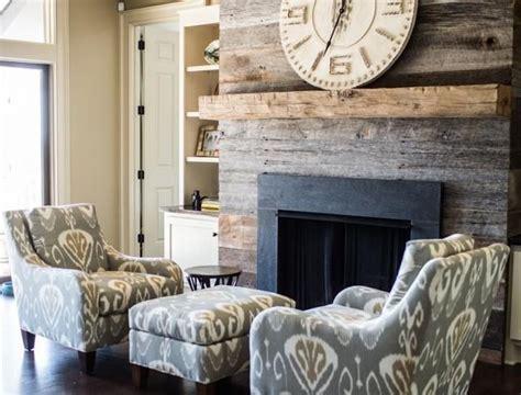rustic modern fireplace best 25 reclaimed wood fireplace ideas on