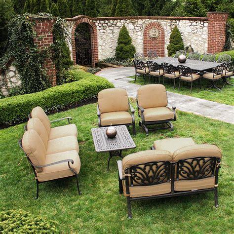 san marino seating set by veranda classics family