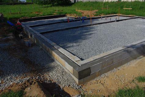 fondation pour garage la maison en paille d am 233 lie et christophe construction