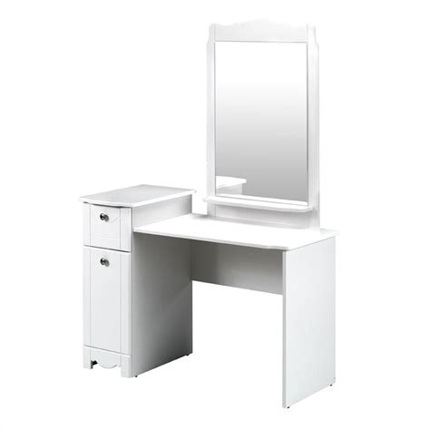 Wood Vanity Student Desk In White 310803 White Study Desk