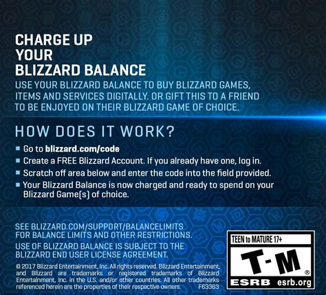Battlenet Gift Card Digital - 20 battle net store gift card balance blizzard entertainment digital code online