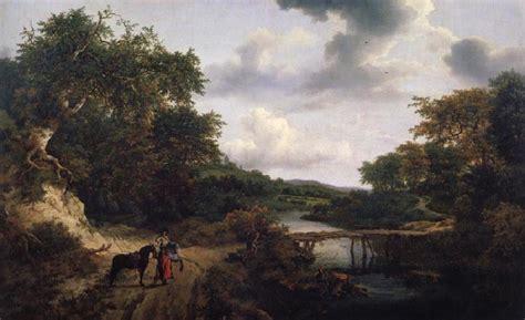 Landscape With A Footbridge Jacob Van Ruisdael China Oil