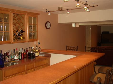 Presenting Awesome Decoration In Basement Wet Bar   HomesFeed