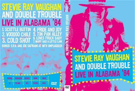 dvd concert  power  deer  stevie ray vaughan double trouble    alabamahalle