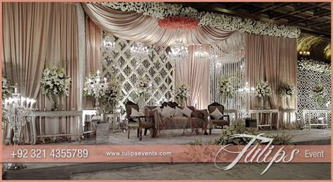 Good Theme For A Church Anniversary #5: Pink-white-Pakistani-wedding-stage-setup-ideas-by-Tulips-Events-27.jpg
