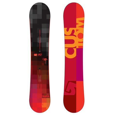Handcrafted Snowboards - burton custom snowboard burton cartel snowboard bindings